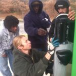 GO participants learn about EV charger technology